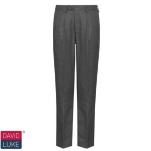 DL943 Grey Half Elastic Trouser