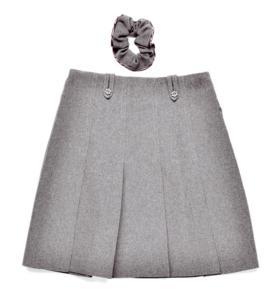 Junior Flower Button Skirt