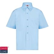 Short Sleeve Shirt Blue