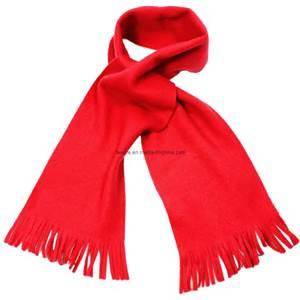 Fleece Fringe Scarf