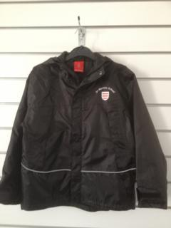 St Martin's Waterproof Coat Black