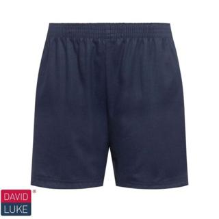 Navy Classic Cotton Shorts