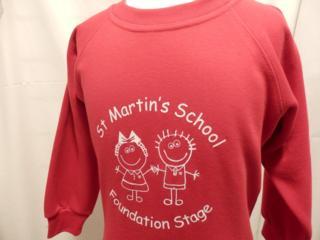 St Martin's Sweatshirts