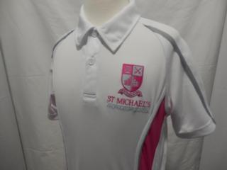 St Michael's polo shirt