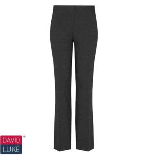 Girls Black Slim Fit Trouser