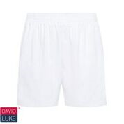 White Cotton PE Shorts